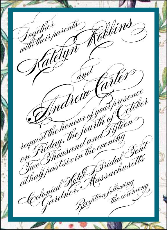 Callygraphy Style - www.envelopme.com