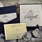 Custom Pocket Card Wedding Invitation