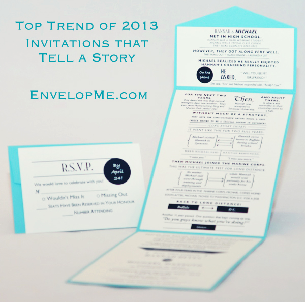 Invitations That Tell A Story