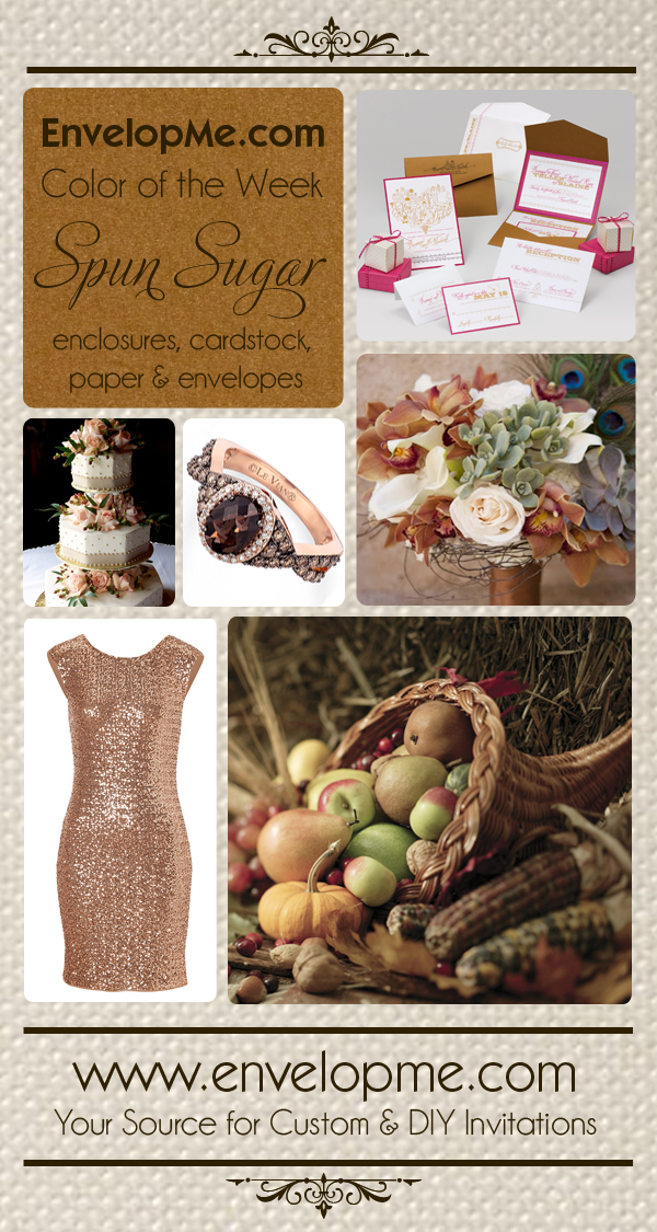 Spun Sugar Invitation Inspiration Board