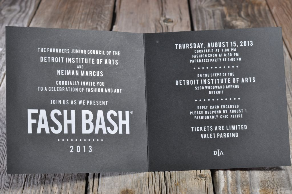 Foil letterpress invitations envelopme this impressive event 8 x 8 invitation features bold white foil on the inside a black foil on black cover and a full color sponsor insert solutioingenieria Images