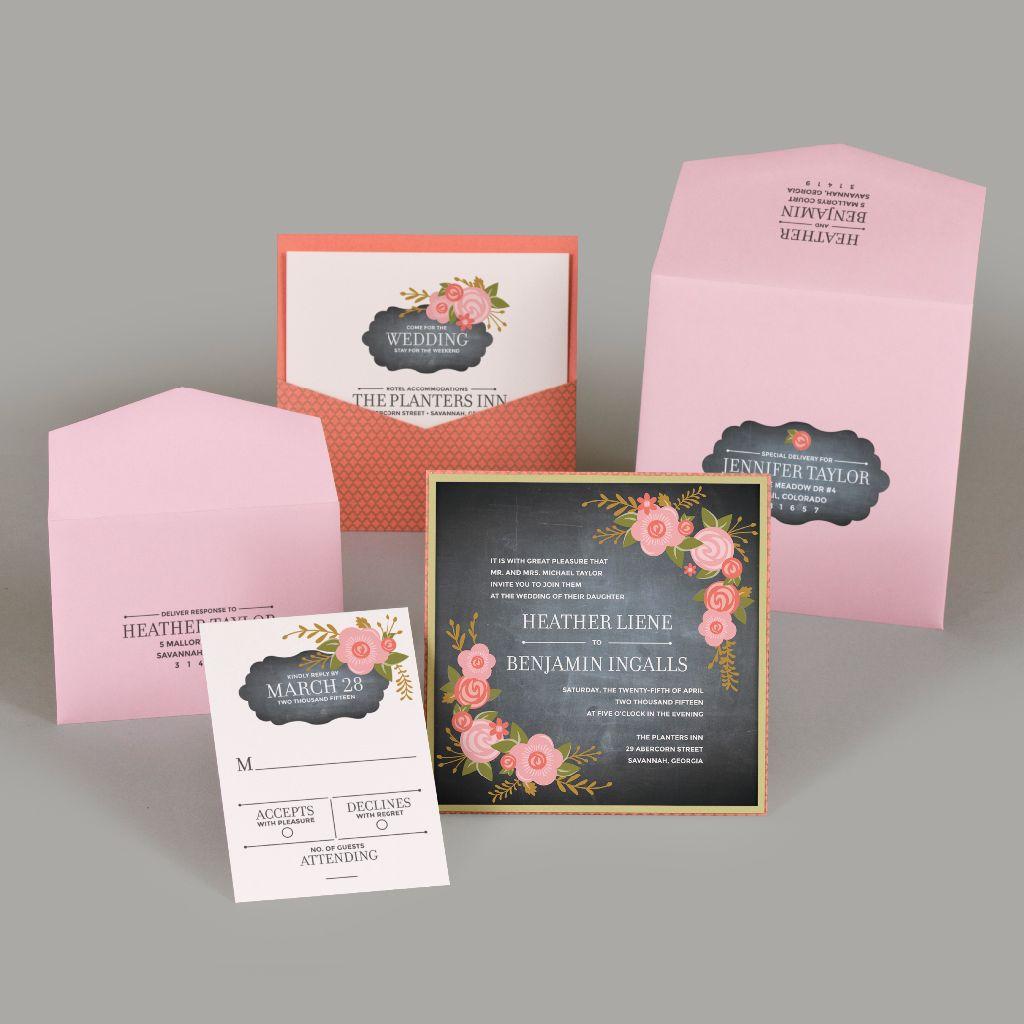 DIY Pocket Invitations - EnvelopMe.com
