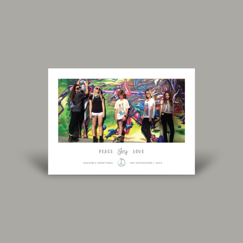 Holiday photo cards families kids envelopme standard family holiday greetings m4hsunfo
