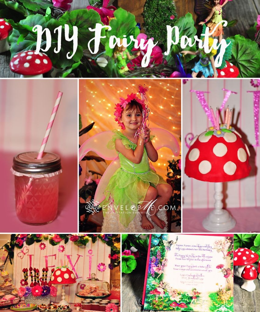 An Enchanted Diy Fairy Birthday Party Part 3 The Party