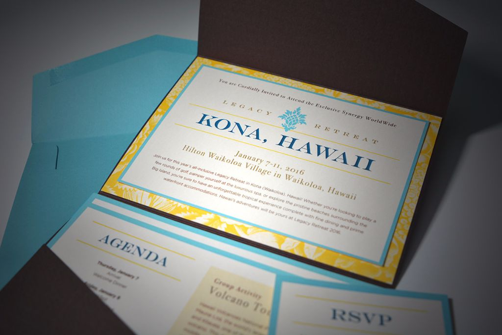 DIY Corporate Retreat Invitations - EnvelopMe.com
